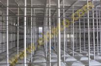 نماي داخلي مخزن کامپوزيت 2500 متر مکعبي با ساپورت از نوع داخلي